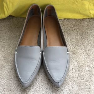 J Crew Edie leather loafers